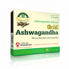 OLIMP GOLD ASHWAGANDHA 30 caps.