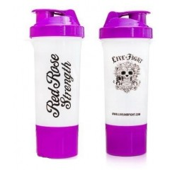 OLIMP SHAKER RED ROSE STRENGTH PURPLE & WHITE 400 ML