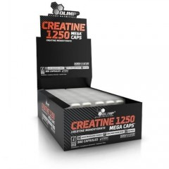 CREATINE 1250 MEGA CAPS® 120 kaps.