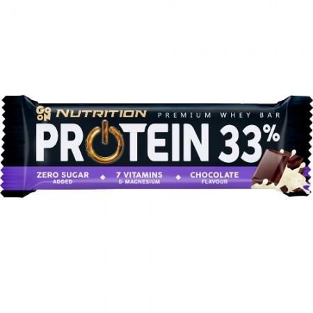 GO ON NUTRITION BATON PROTEINOWY 50g 33% - CZEKOLADA