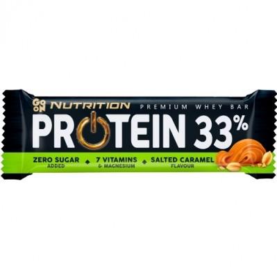 GO ON NUTRITION BATON PROTEINOWY 33% - SALTED CARAMEL
