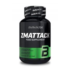 BioTech USA ZMA ATTACK 60 caps.
