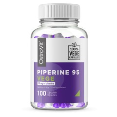 OstroVit PIPERINE 95 VEGE 100 caps.