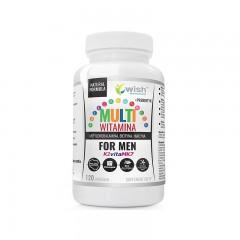 WISH MULTIWITAMINA COMPLEX FOR MEN 120 caps.