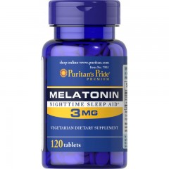 Puritan's Pride MELATONINA 3 mg 120 tabs.