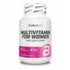 BioTech USA MULTIVITAMIN FOR WOMEN 60 tabs.