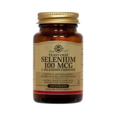 SOLGAR SELENIUM SELEN 100UG 100 tabletek