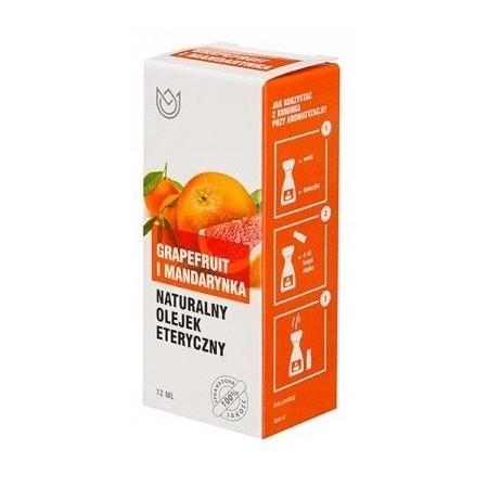 Naturalny olejek eteryczny 12ml - GRAPEFRUIT I MANDARYNKA