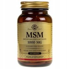 SOLGAR MSM 1000mg 60 tabs.