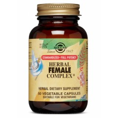 SOLGAR HERBAL FEMALE COMPLEX 50 caps.