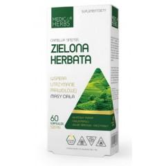 MEDICA HERBS ZIELONA HERBATA 520mg 60 kapsułek