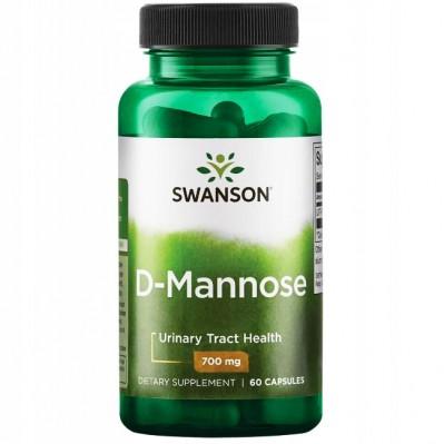 SWANSON D-MANNOZA 700mg 60 caps.