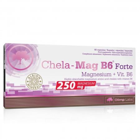 OLIMP CHELA-MAG B6 FORTE MAGNEZ + WITAMINA B6 60 caps.