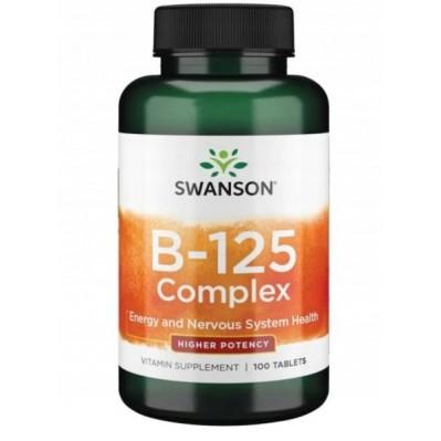 SWANSON WITAMINA B-125 COMPLEX 100 tabs.