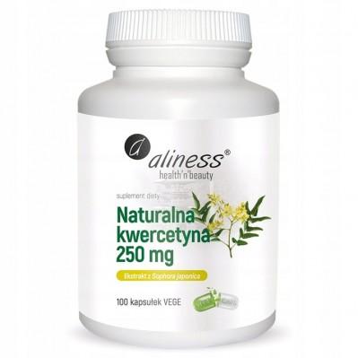 Aliness Naturalna Kwercetyna 250MG 100 vege kaps