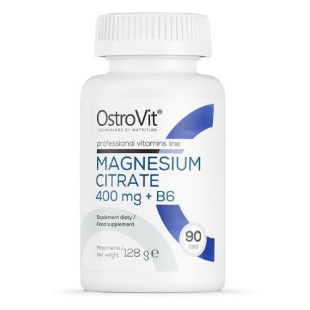 OstroVit Cytrynian Magnezu 400 mg + B6 90 tabletek
