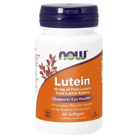 NOW FOODS LUTEIN 10mg 60 caps.