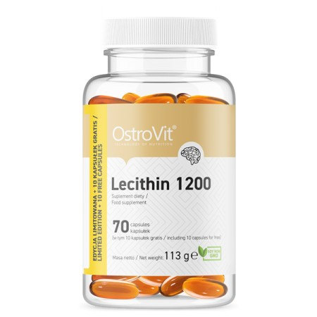 OstroVit Lecytyna 1200 mg 70 kapsułek