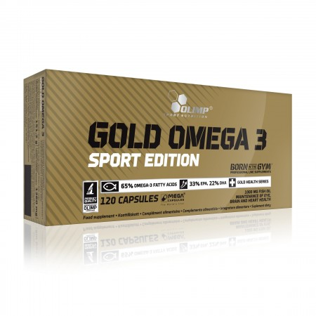 OLIMP GOLD OMEGA 3 SPORT EDITION 120 caps.